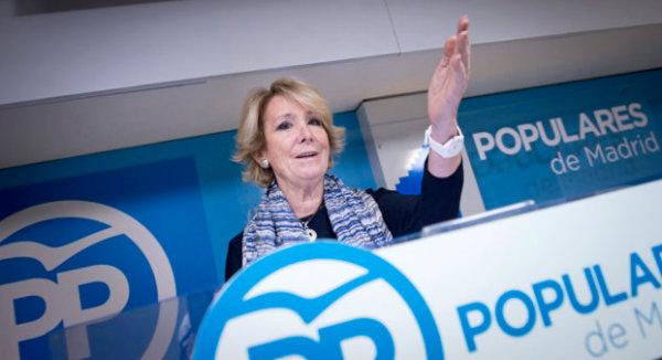 Esperanza Aguirre podría presentarse a la Alcaldía en 2019