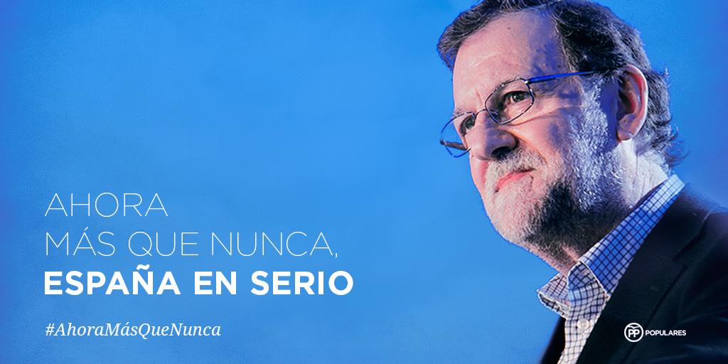 Rajoy reitera su apuesta por la «moderación» a 15 días de iniciar la campaña