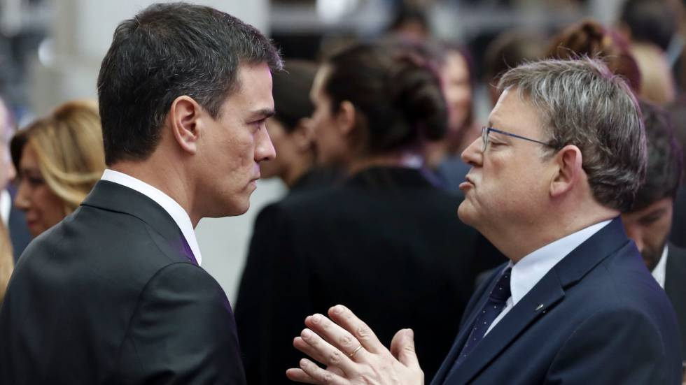 Los socialistas valencianos ceden ante Sánchez e irán solos al Senado