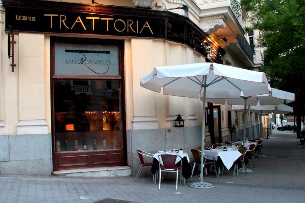 Un pedazo de Italia en un presumido y señorial esquinazo de Madrid