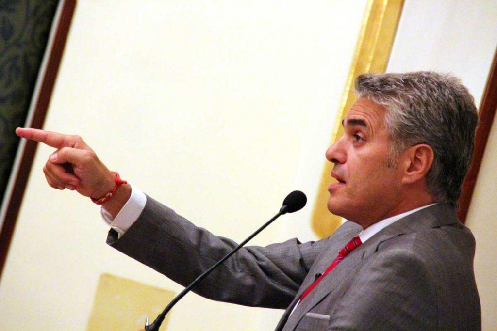 Agustín Bravo: «Llegué a Ciudadanos porque la política me decepcionaba»