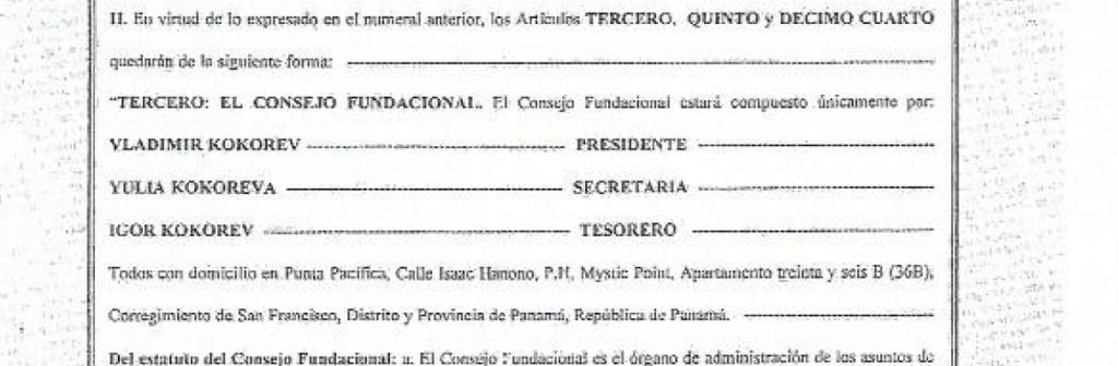 Caso Kokorev: la frenética carrera de presuntas estafas del testigo panameño