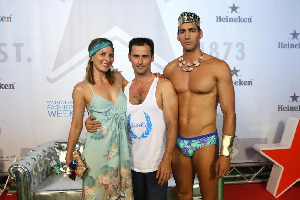 Gabriel Croissier y sus dioses del Olimpo en bañador