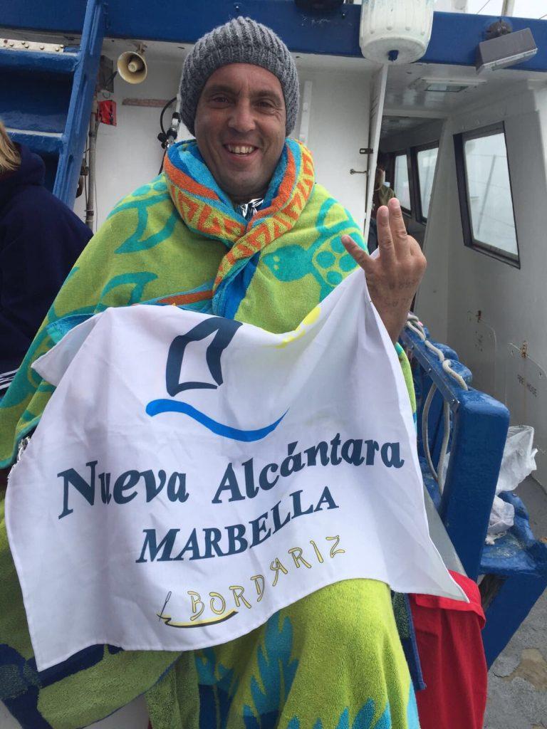 El ejemplo de superación del paratriatleta Javier Mérida