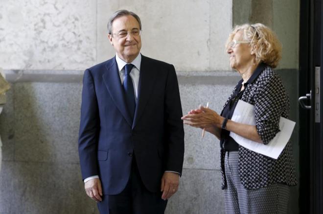 Carmena, en contra del Real Madrid
