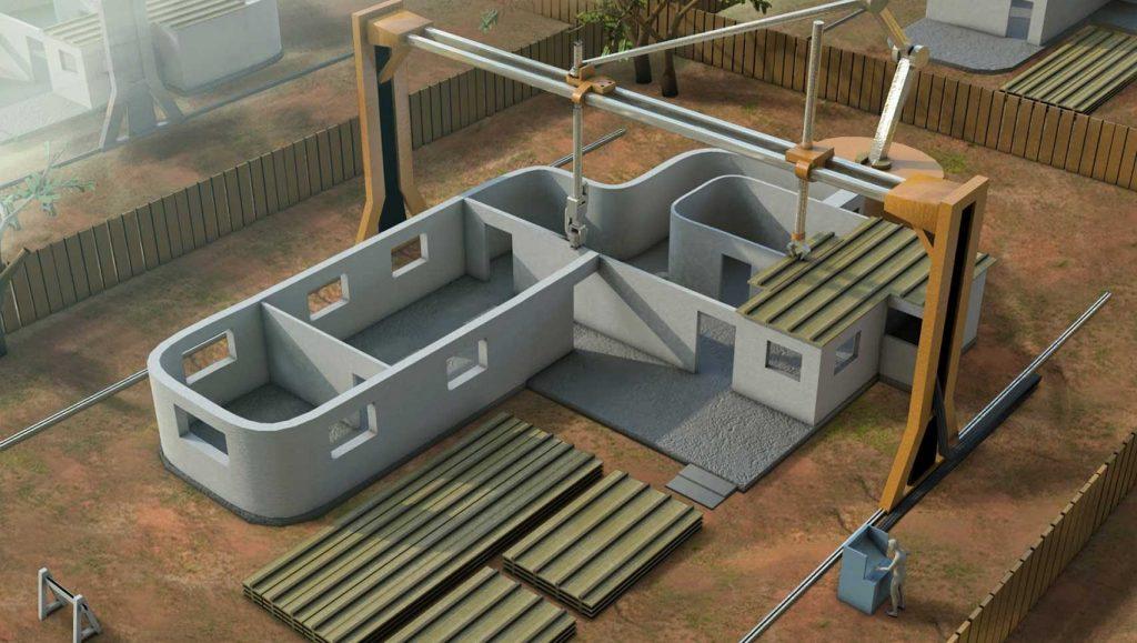 Mi casa de 200 m2 construida en 1 día  con la Impresión 3D