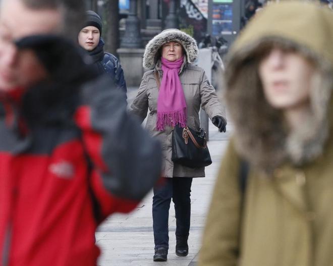 Llega el frío polar a Madrid