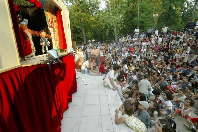 El teatro de títeres del Retiro contará con obras para un público de adultos