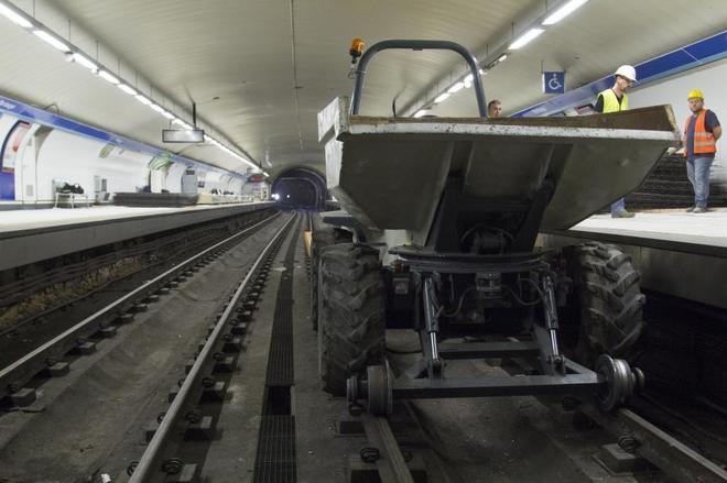 Metro no hará más obras que conlleve el cierre de líneas