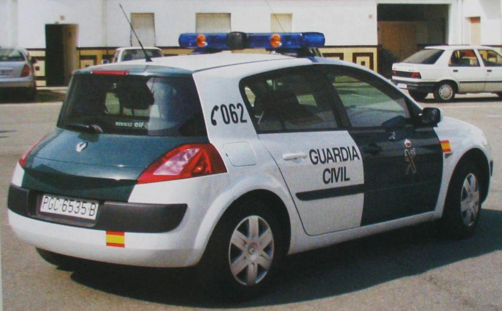 Suspendido un guardia civil por difundir fotos de una detenida