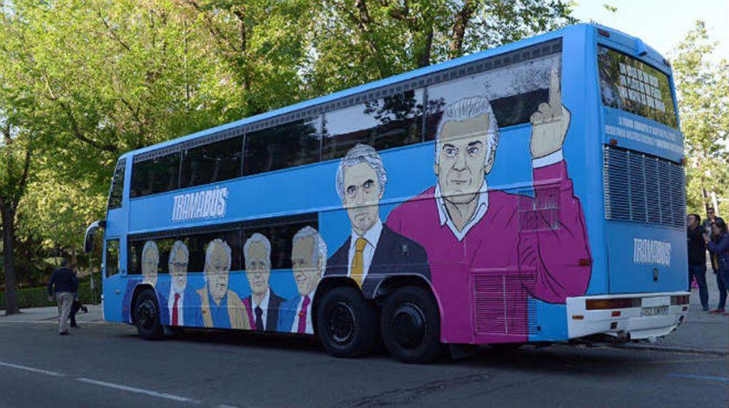 La mofa podemita recorre las calles de Madrid
