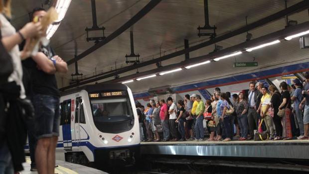 Metro de Madrid vuelve a anunciar huelga para el próximo lunes