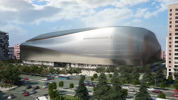 Las obras del nuevo Bernabéu continúan retrasándose
