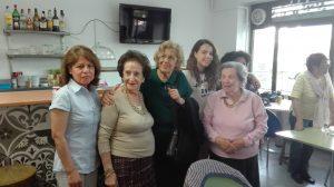 Carmena invierte dinero en los más mayores de Madrid