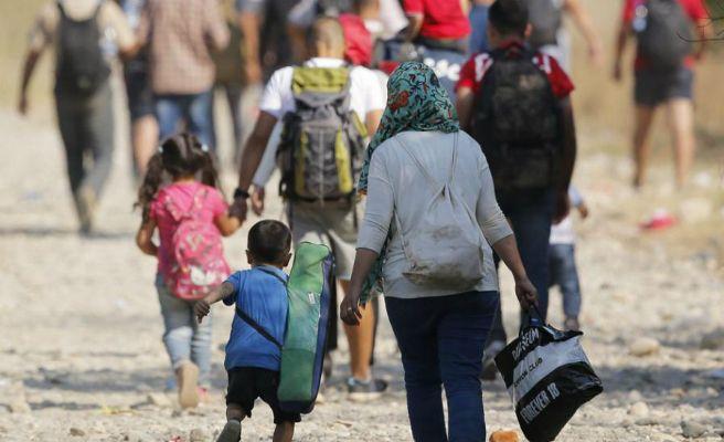 Carta a refugiados e inmigrantes