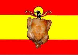 El pollo sustancia de la fantasía en España