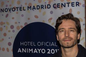 """Damián Perea: """"Cada vez  hay más trabajo en España de animación. Es una muy buena salida para el talento"""""""