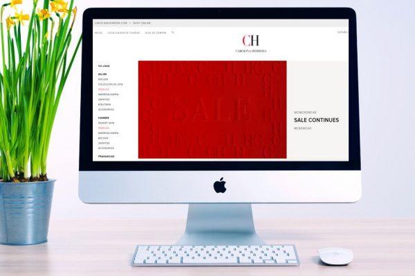 CH Carolina Herrera impulsa su estrategia de venta online