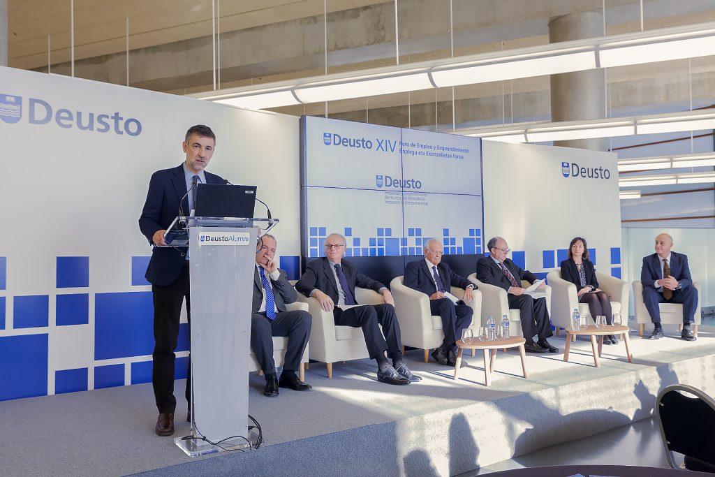 La Universidad de Deusto presenta el Premio Renacimiento en su XIV Foro de Empleo y Emprendimiento