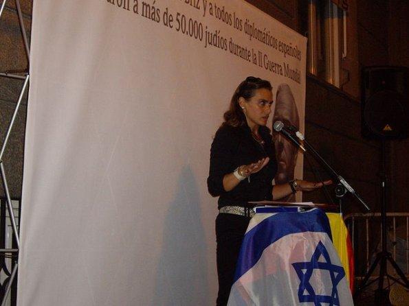 Yolanda Couceiro: «Si algún día cae Israel, Europa irá detrás de forma inmediata»