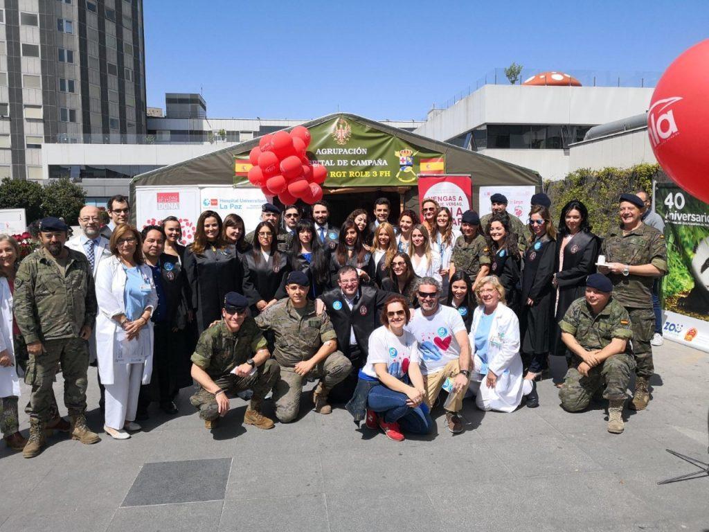Más de 50 abogados con toga asisten a la XI Maratón de Sangre