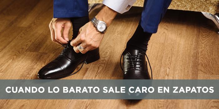 Cuando lo barato sale caro en zapatos