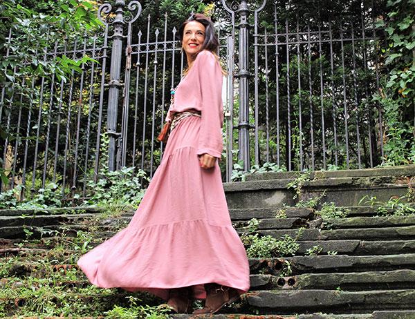 Yolanda Valdehita y sus consejos de moda: vestidos largos en otoño