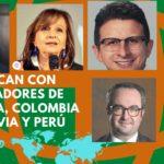 Secretario General de la Comunidad Andina de Naciones y Senadores de Iberoamérica en Foro Solidario