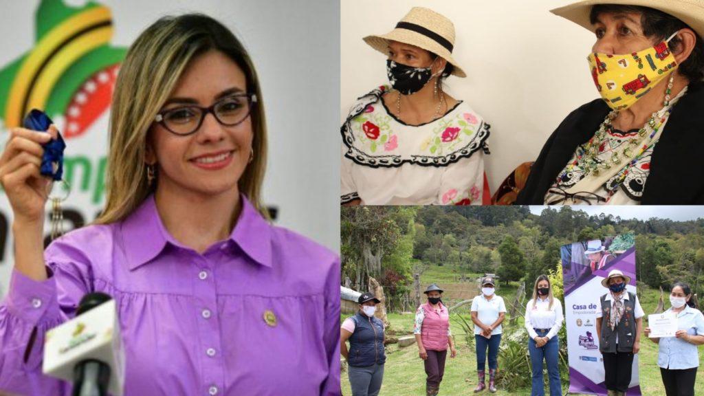 Andrea Blanco la colombiana que camina entre las montañas de Santander para empoderar mujeres en medio de la pandemia