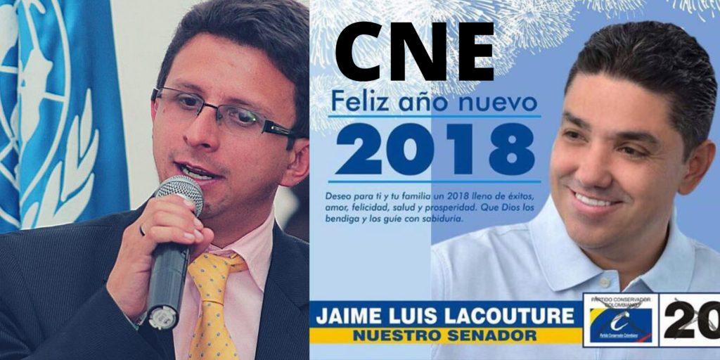 «Jaime Luis Lacouture Peñaloza es el candidato magistrado de Colombia que sanciono a líderes sociales» Daniel Mejía Lozano.